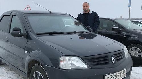 Инструктор по вождению Горячев