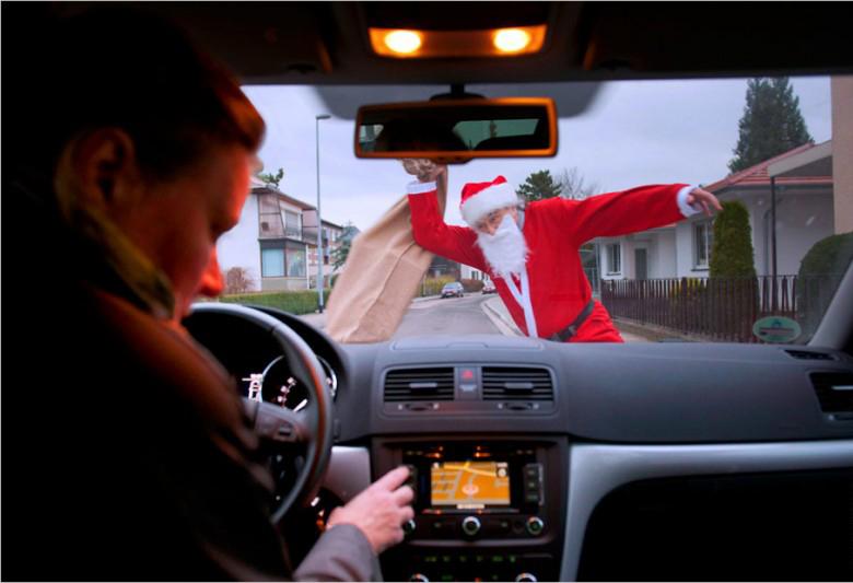 Обучаем внимательному вождению