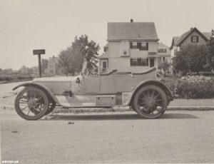Первые автомобили на пару